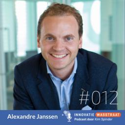 Afleveringplaatje van #012 Alexandre Janssen - De vijf belangrijkste lessen uit tien jaar innovatie bij Deloitte