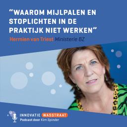 Afleveringplaatje van #006 Hermien van Triest, Ministerie van Buitenlandse Zaken - Waarom mijlpalen en stoplichten op rood of op groen in de praktijk niet werken