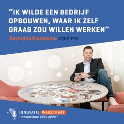 Afleveringplaatje van #003 Raymond Klompsma, Srprs.me - Ik wilde een bedrijf opbouwen, waar ik zelf graag zou willen werken