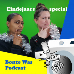 Afleveringplaatje van S1 AFL 8: Bonte Was Podcast Eindejaarsspecial