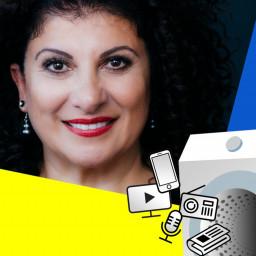 Afleveringplaatje van S1 AFL 5: Bonte Was Podcast met Funda Müjde
