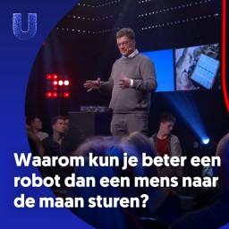 Afleveringplaatje van 233. Waarom kun je beter een robot dan een mens naar de maan sturen?