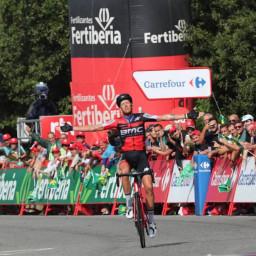 Afleveringplaatje van Etappe 11: De Marchi wint in Luintra