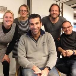 Afleveringplaatje van S1 E18 50 Jaar 3FM - BuZz met Marc de Hond en Merel Uffing, Steef Cuijpers en Heidi Iepema [1998]