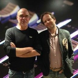 Afleveringplaatje van S1 E10 50 Jaar 3FM - Bram van Splunteren en Eddy Keur [1985]