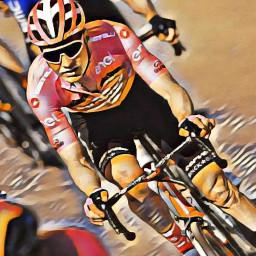 Afleveringplaatje van Dubbelslag voor Sunweb: Kelderman in Giro-roze, Hindley de rit