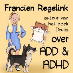 Afleveringplaatje van S02E03 Francien Regelink over haar AD(H)D