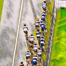 Afleveringplaatje van Ackermann wint de Vuelta-etappe - Carapaz (nog even) in het rood