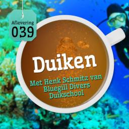 Afleveringplaatje van Aflevering 39: Duiken - Met Henk Schmitz