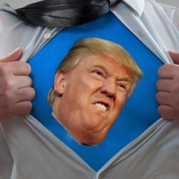Afleveringplaatje van NieuwNieuws van de dag   11-10-2020 - Trump waant zich Superman
