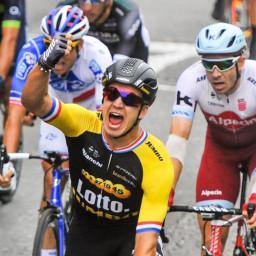 Afleveringplaatje van Etappe 21: Groenewegen wint op de Champs Elysees. Hoe dan!?
