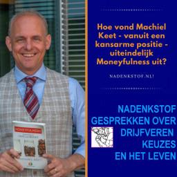 Afleveringplaatje van Machiel Keet van kansarm tot succesvolle schrijver in de VS