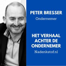 Afleveringplaatje van Waarom Peter Bresser onderneemt terwijl hij zijn rechter hersenhelft gebruikt?