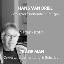 Afleveringplaatje van Van ex-hoofddocent Tilburg University tot schrijver (deel 2 -Slot)