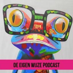 Afleveringplaatje van #15 De Eigen Wijze Podcast met Mariska Van Gennep over de zoektocht na rouw en verlies.