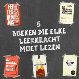 Afleveringplaatje van | Vijf boeken die je als leerkracht moet lezen