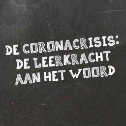 Afleveringplaatje van   De Coronacrisis: De leerkracht aan het woord
