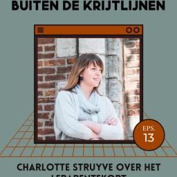 Afleveringplaatje van #13   Charlotte Struyve over het lerarentekort