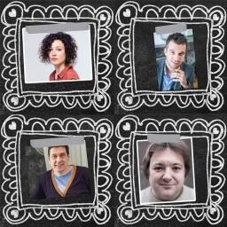 Afleveringplaatje van #8 | Debat rond de eindtermen live vanop het Podcastfestival