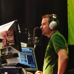 Afleveringplaatje van Andy Degryse, radiomaker bij Radio Bingo