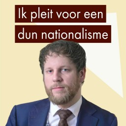 Afleveringplaatje van Het inclusief patriottisme van Gert Jan Geling