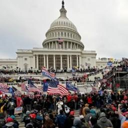 Afleveringplaatje van NieuwNieuws van de dag   07-01-2021 - Washington down
