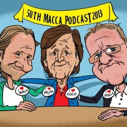 Afleveringplaatje van Macca Podcast Compilatie