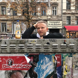 Afleveringplaatje van ALLES over de Berlijnse bijpraat bezemwagen