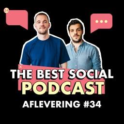 Afleveringplaatje van The Best Social Podcast #34 - Big Tech en censuur