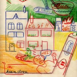 Afleveringplaatje van Pieter-Jan ontziet de details