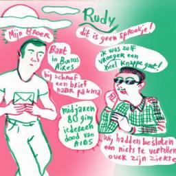 Afleveringplaatje van De laatste tango van Rudi