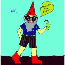 Afleveringplaatje van Paul en de zeven tuinkabouters