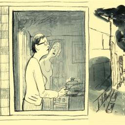 Afleveringplaatje van De vuurproef van Irene De Meyere