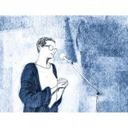Afleveringplaatje van De blauwe leiband van Sabrina De Croock