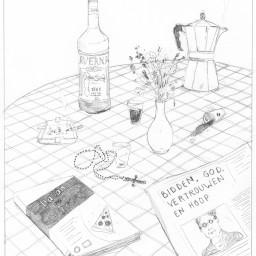 Afleveringplaatje van Het dronken conclaaf van Peter Decroubele