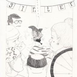 Afleveringplaatje van De Sinterklaasangst van Dalilla Hermans