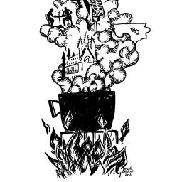 Afleveringplaatje van Het zwarte elixir van Katharina Smets   RELAAS