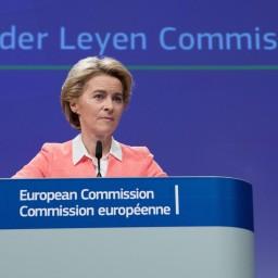 Afleveringplaatje van Wie vormt de meerderheid voor Von der Leyen?