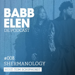 Afleveringplaatje van Babbelen de Podcast met Shermanology