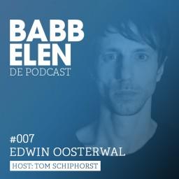 Afleveringplaatje van Babbelen de Podcast met Edwin Oosterwal