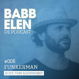 Afleveringplaatje van Babbelen de Podcast met Funkerman