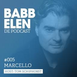 Afleveringplaatje van Babbelen de Podcast met DJ Marcello