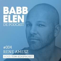 Afleveringplaatje van Babbelen de Podcast met Rene Amesz
