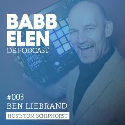 Afleveringplaatje van Babbelen de Podcast met Ben Liebrand