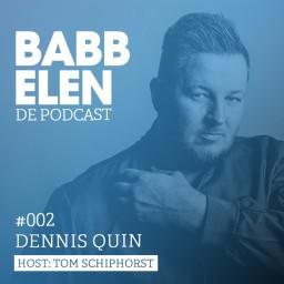 Afleveringplaatje van Babbelen de Podcast met Dennis Quin