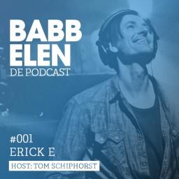 Afleveringplaatje van Babbelen de Podcast met Erick E