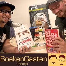 Afleveringplaatje van #BG4 Marketingboeken van Nutella & Tony Chocolonely