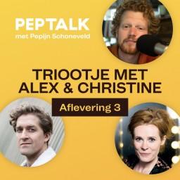 Afleveringplaatje van #75 | TRIOOTJE MET ALEX & CHRISTINE 3 - Wanneer belt Henny Huisman?