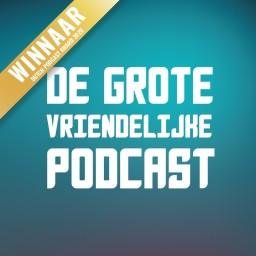 Logo van De Grote Vriendelijke Podcast