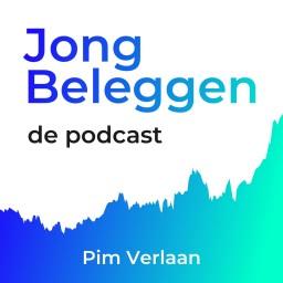 Logo van Jong Beleggen, de podcast
